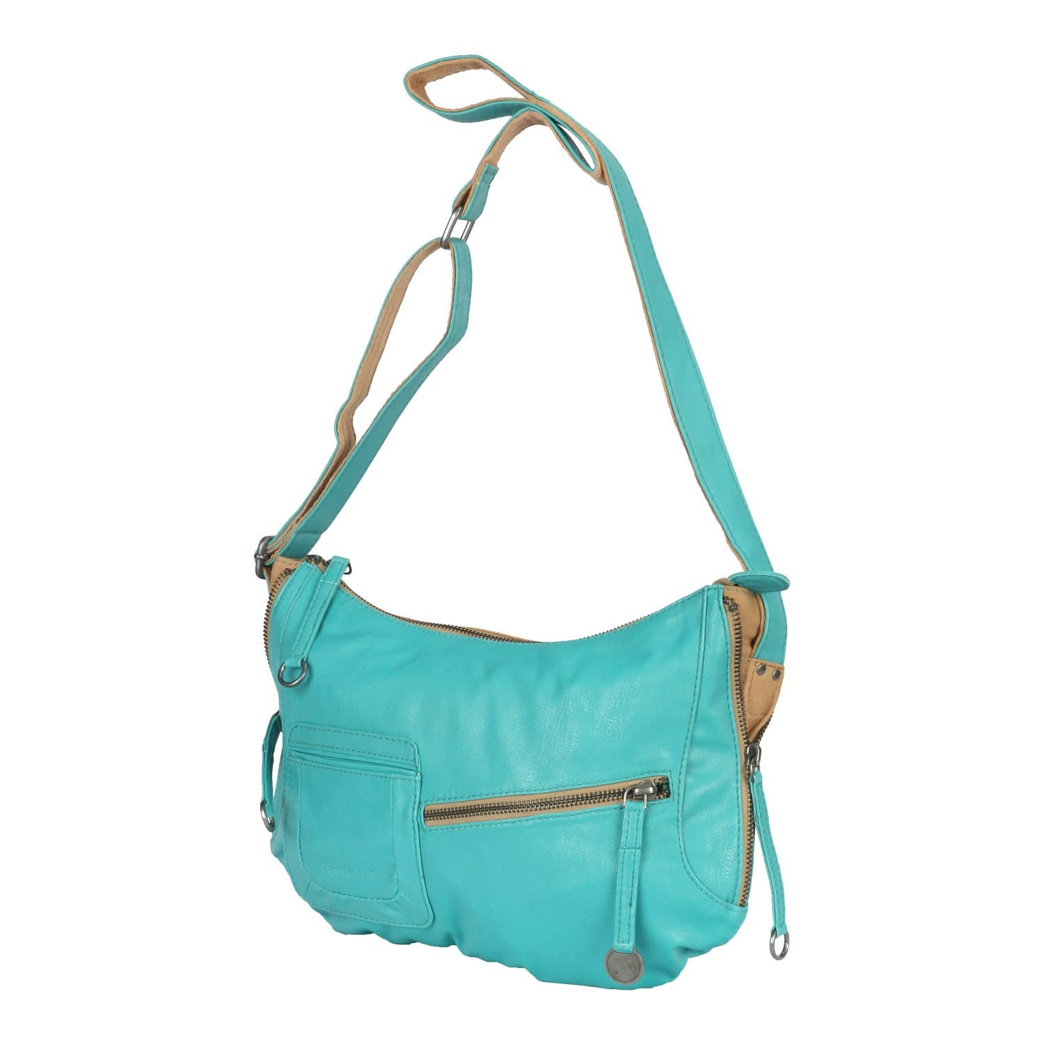 Buy Fastrack Aqua Blue PU Sling bag for Women A0410PBL02 At Best ...