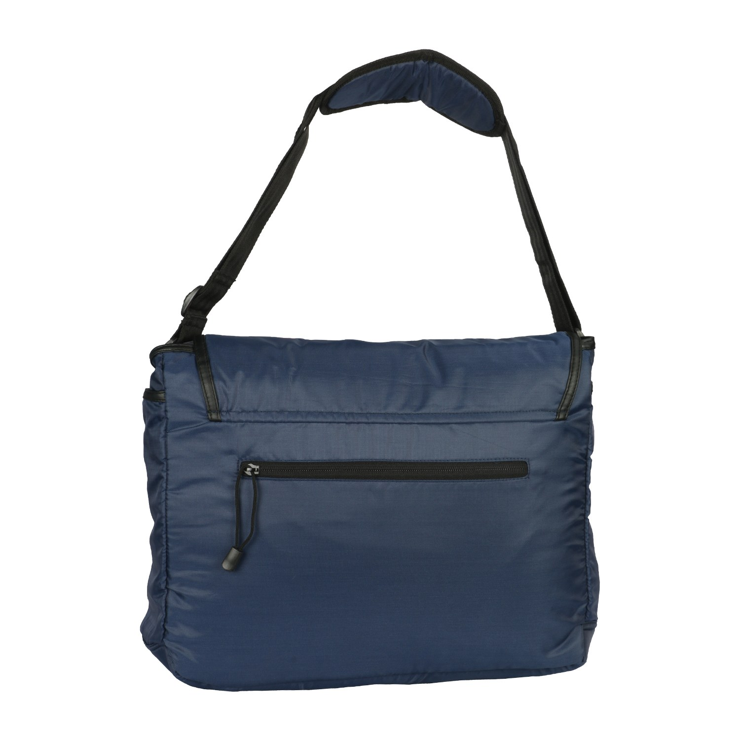 Buy Fastrack Blue Polyester Messenger Bag for Men ...