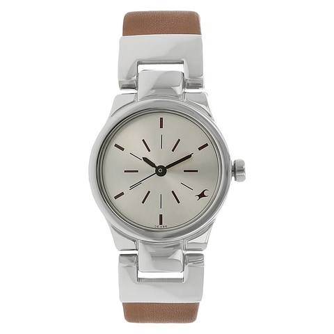 Order Fastrack Silver Dial Analog Watch For Women ... Fastrack Watches For Women New Arrivals