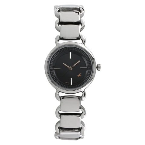 Buy Fastrack Black Dial Watch For Women-6117SM01 At Best ... Fastrack Watches For Women New Arrivals