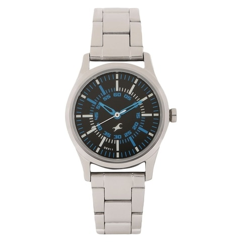 Fastrack Round Dial Analog Metal Watch ID 6130SM01 Buy ...
