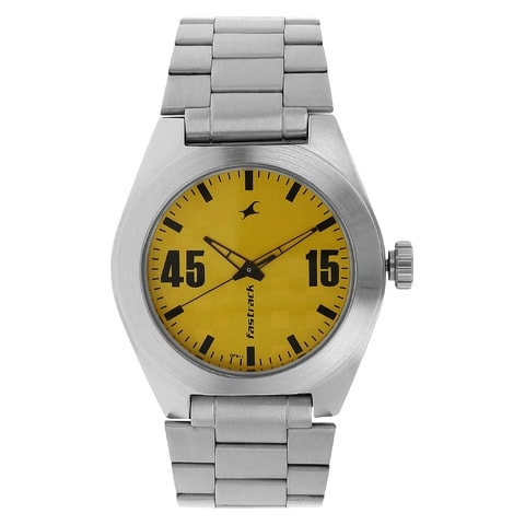 dp online analog fastrack watches men s buy low dial watch at yellow agzp