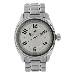 Fastrack Black Dial Watch For Men-3112SL02