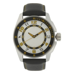 Fastrack Silver Dial Analog Watch for Men-3089SL11