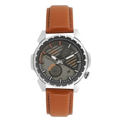 Fastrack Loopholes Grey Dial Watch for Men