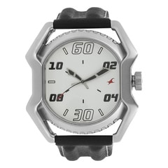 Fastrack Black Dial Watch For Men-3123SM01