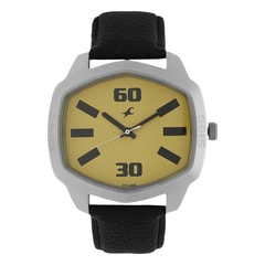 Fastrack Yellow Dial Analog Watch for Men