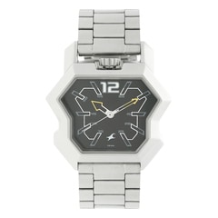 Fastrack Black Dial Analog Watch For Men-3125SM02