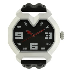 Fastrack Black Dial Analog Watch For Men-3129SL02