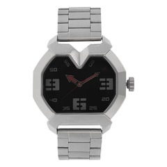 Fastrack Black Dial Analog Watch For Men-3129SM02