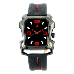 Fastrack Black Dial Analog Watch For Men-3131NL02