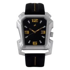 Fastrack Black Dial Analog Watch for Men