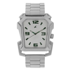 Fastrack Silver Dial Analog Watch For Men-3131SM01