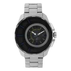 Fastrack Black Dial Analog Watch for Men-3133SM02