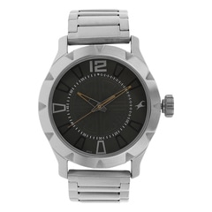 Fastrack Grey Dial Analog Watch for Men - 3139SM01