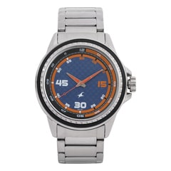 Fastrack Blue Dial Analog Watch for Men-3142SM02