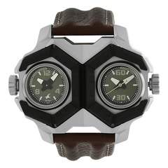 Fastrack MotorheadsGreen Dial Analog Watch for Men