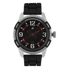 Fastrack MotorheadsBlack Dial Analog Watch for Men