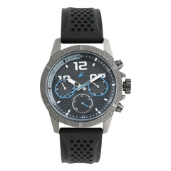 Fastrack Black Dial Multifunction Watch for Men