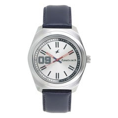 Fastrack Varsity White Dial Analog Watch for Men