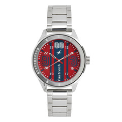 Fastrack Varsity Red Dial Analog Watch for Men