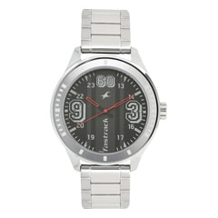 Fastrack Varsity Black Dial Analog Watch for Men