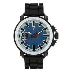 Fastrack MotorheadsBlue Dial Analog Watch for Men