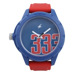 Fastrack Blue Dial Analog Unisex Watch