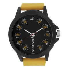 Fastrack Black dial Analog Watch for Unisex