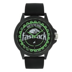 Fastrack Silver Unisex Watch 38024PP05J