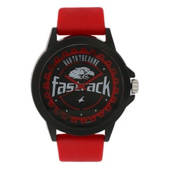Fastrack Silver Unisex Watch 38024PP06J