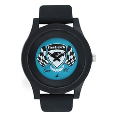Fastrack Blue Dial Analog Watch for Unisex