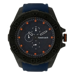 Fastrack Watch Blue Dial Multifunction For Men