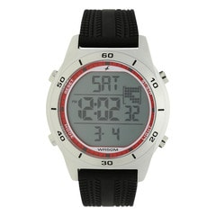 Fastrack Black Strap Digital Watch for Men