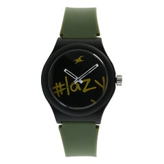 Fastrack Tees Black Dial Unisex Watch