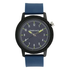 Fastrack Tees Grey Dial Unisex Watch