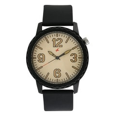 Fastrack Tees Biege Dial Unisex Watch