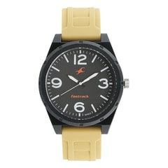 Fastrack Trendies Black Dial Analog Watch for Men