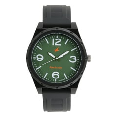 Fastrack Trendies Green Dial Analog Watch for Men
