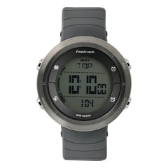 Fastrack Trendies Grey Dial Digital Watch for Men