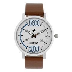 Fastrack Fundamentals White Dial Analog Watch for Men