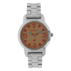Fastrack Yellow Dial Analog Watch for Women