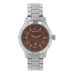 Fastrack Orange Dial Analog Watch for Women
