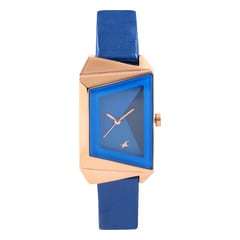 Fastrack Mineral Cocktail Blue Dial Analog Watch for Women-6148WL01