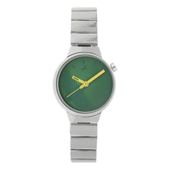 Fastrack Checkmate Green dial Analog Watch for Women-6149SM02
