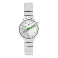 Fastrack Off-White Dial Analog Watch for Women
