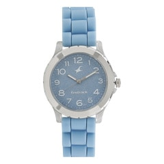 Fastrack Trendies Blue Dial Analog Watch for Women