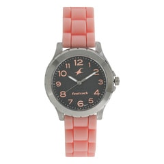 Fastrack Trendies Black Dial Analog Watch for Women