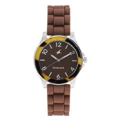 Fastrack Trendies Brown Dial Analog Watch for Women