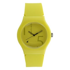 The Minimalists from Fastrack Tees - Green Dial Analog Watch